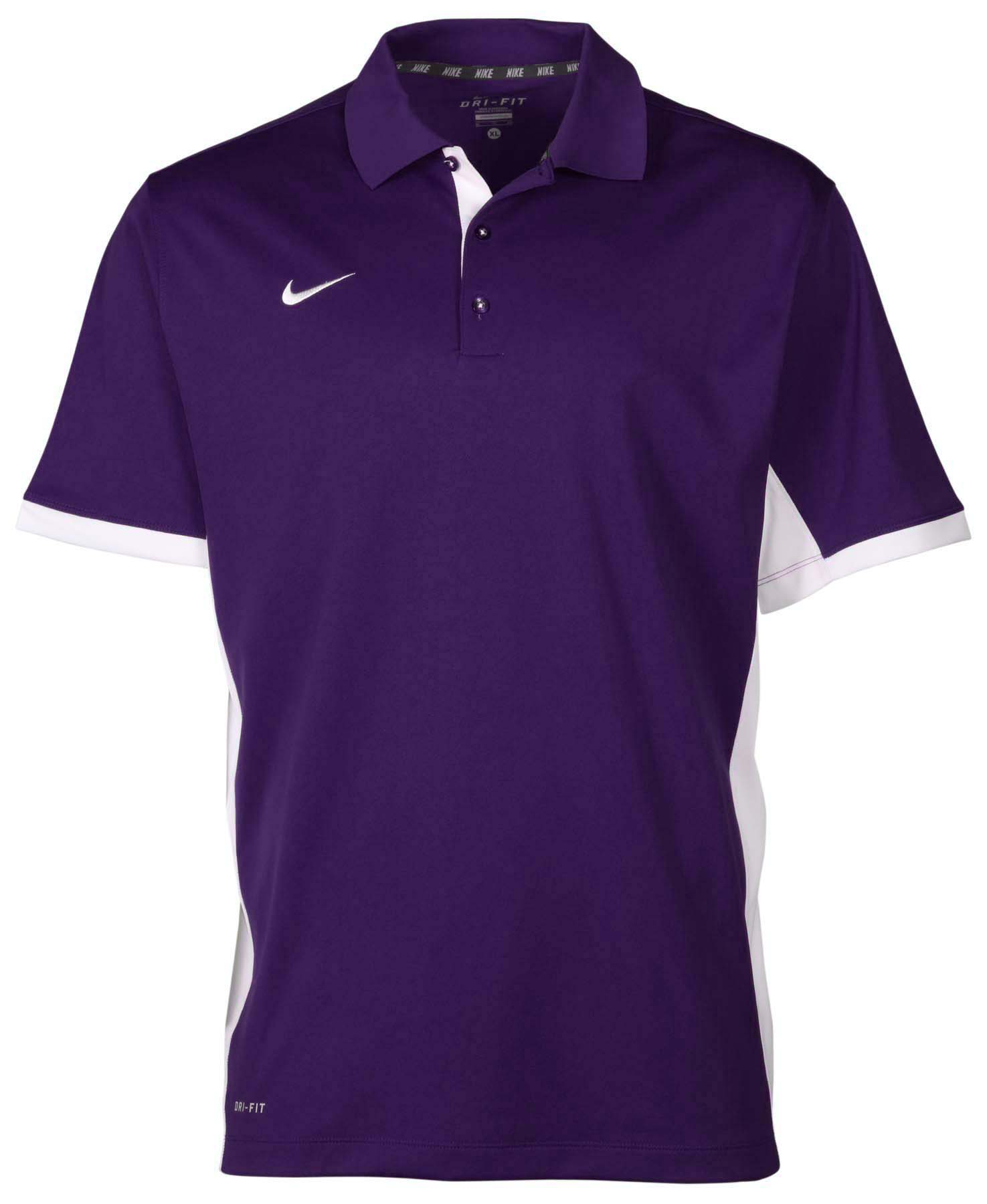 nike men 39 s dri fit performance sideline polo shirt ebay