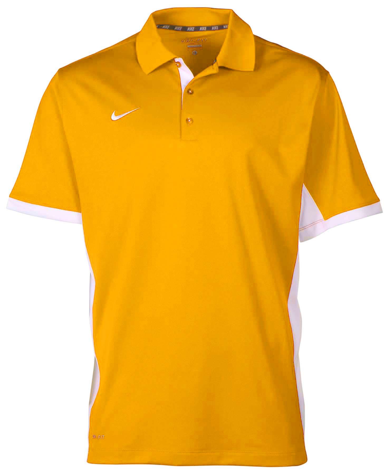Nike men 39 s dri fit performance sideline polo shirt ebay for Men s performance polo shirts
