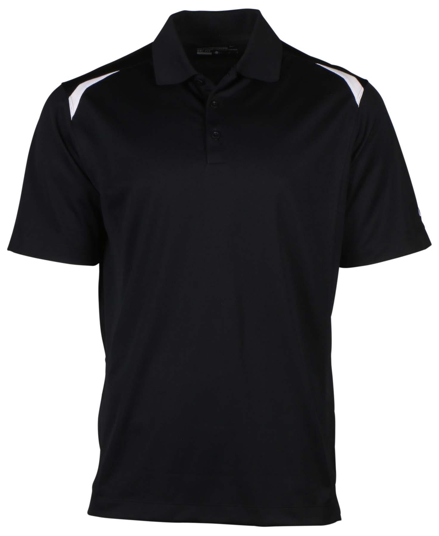 Nike men 39 s dri fit tour performance golf polo shirt ebay for Nike golf mens polo shirts