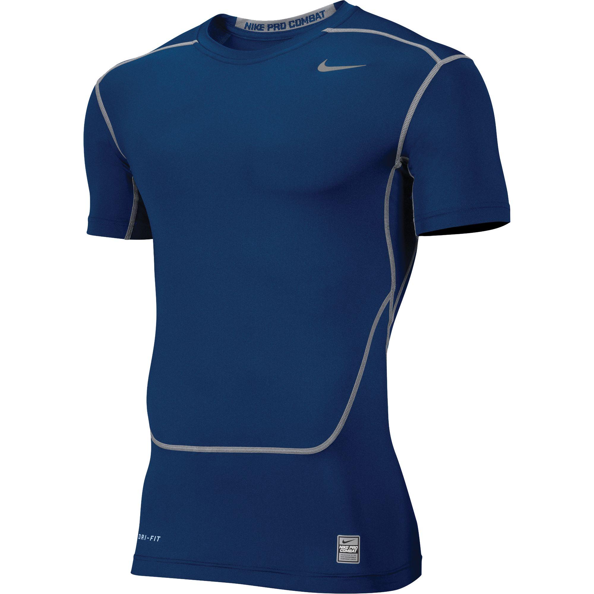 nike men 39 s dri fit pro combat base layer training shirt