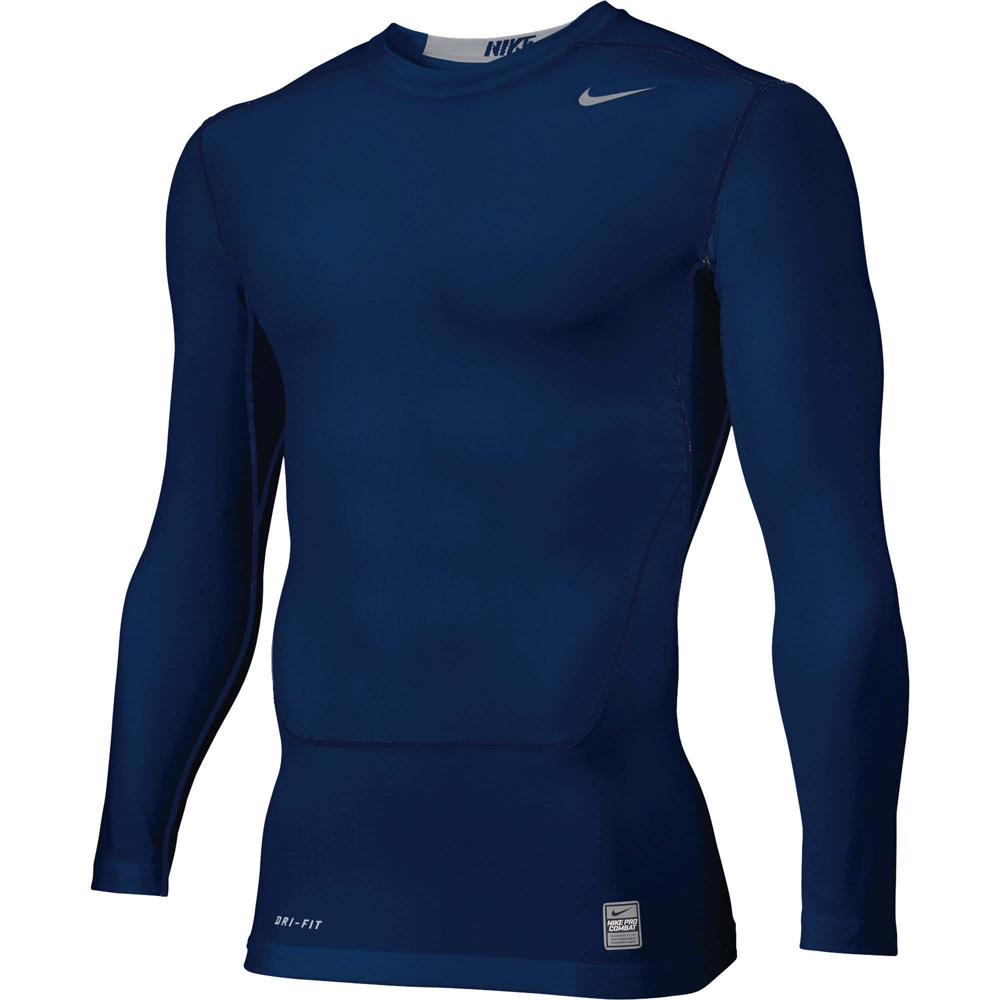 Nike-Men-039-s-Pro-Combat-NPC-Core-2-0-LS-Compression-Top-Shirt