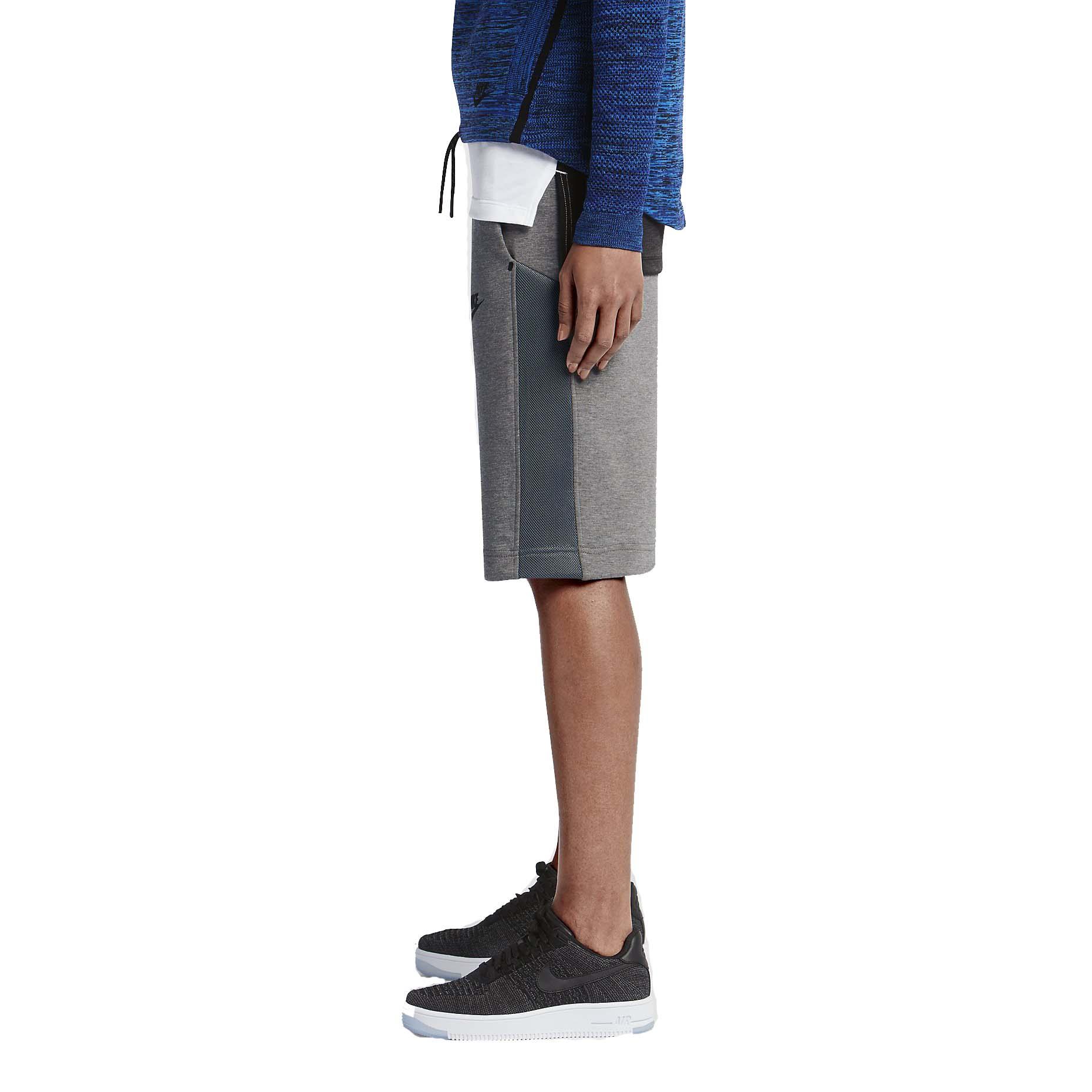 nike womens tech fleece mesh sport casual shorts ebay