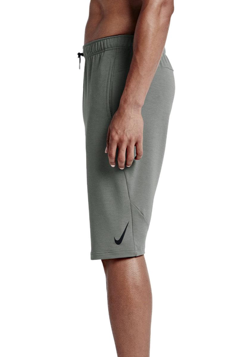 nike men 39 s dri fit fleece training shorts ebay. Black Bedroom Furniture Sets. Home Design Ideas