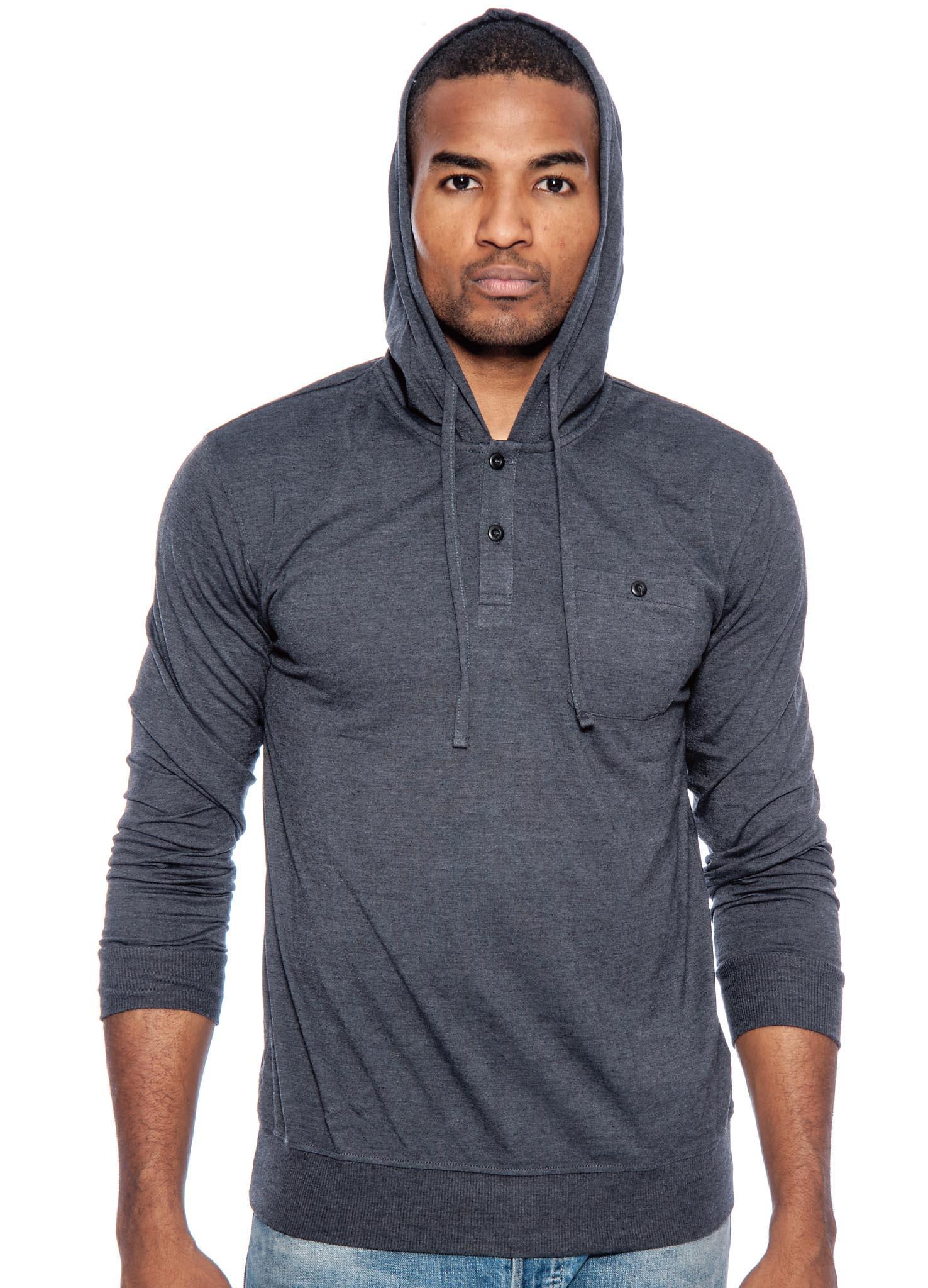 Lightweight hoodie pullover