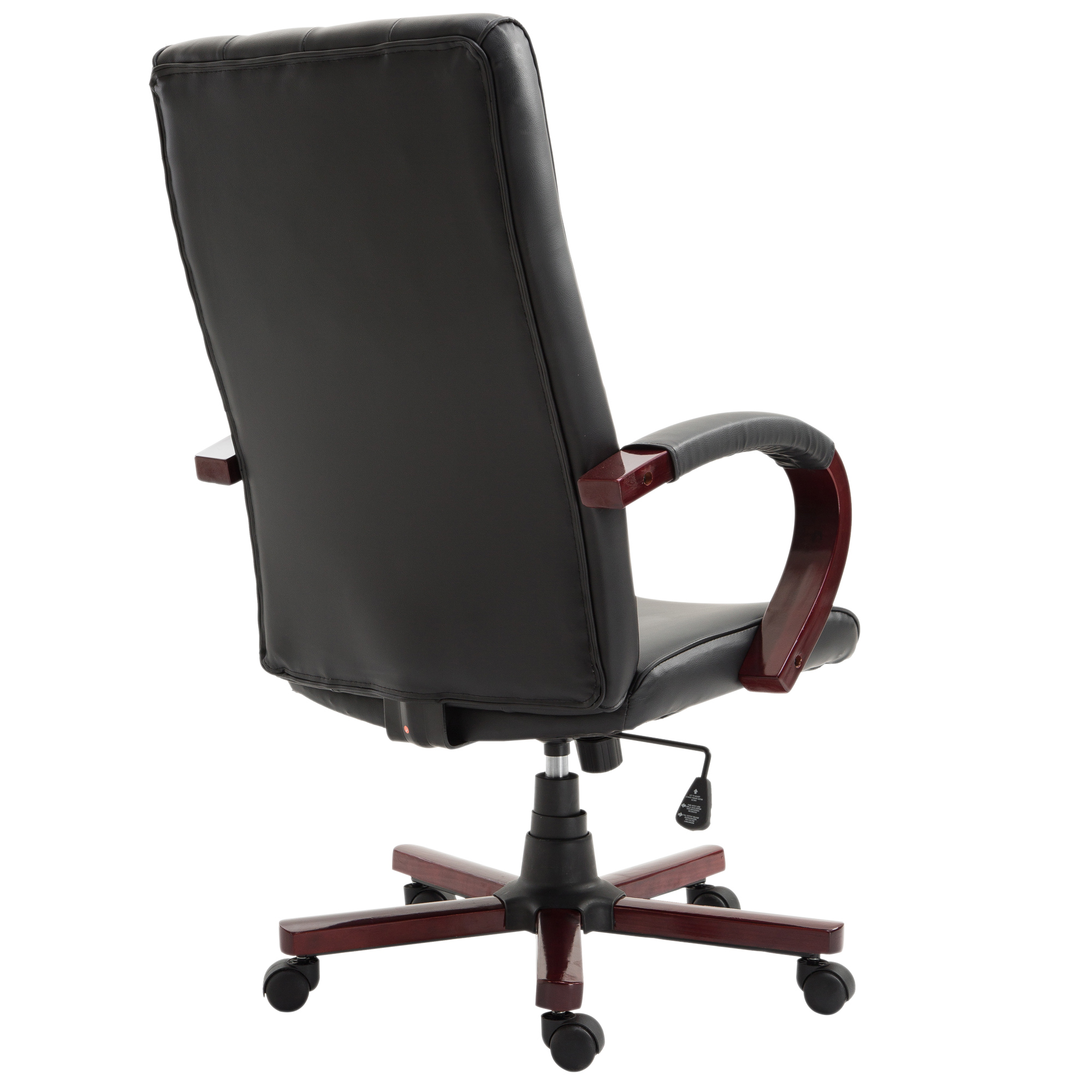 High Back Executive Office Chair PU Leather Ergonomic Computer Desk Task Seat
