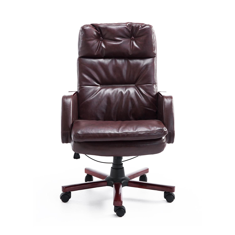 PU Cuir Ordinateur Chaise De Bureau Réglable accoudoir 360 degrés Conception ergonomique