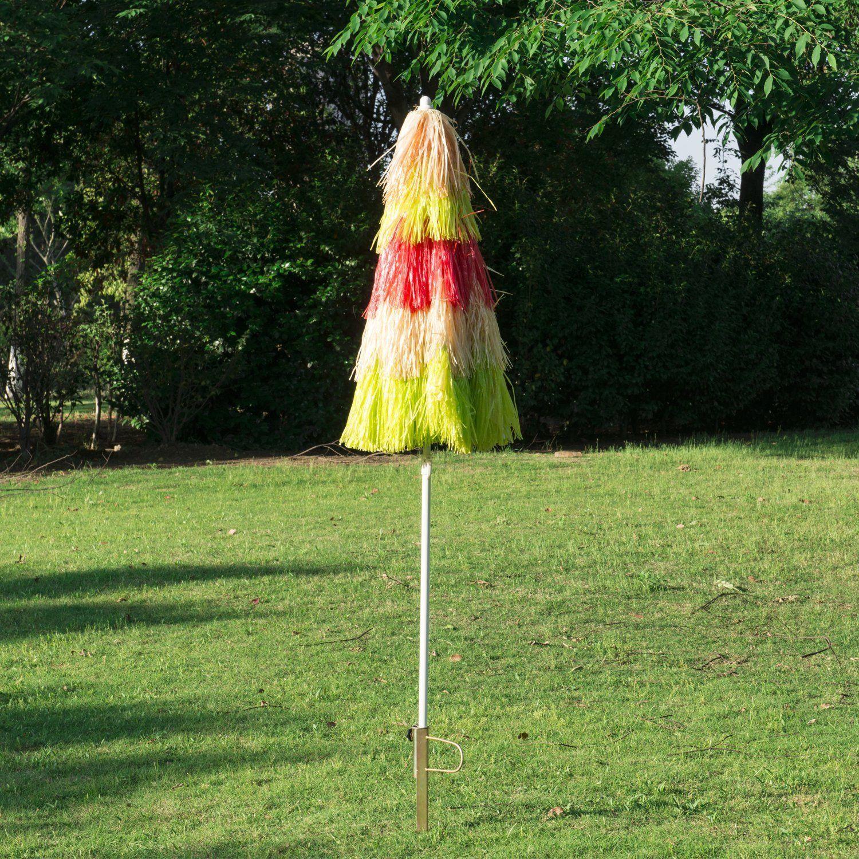 Sonnenschirm Strandschirm Party Gartenschirm Hawaiischirm 160 cm 2 Farben