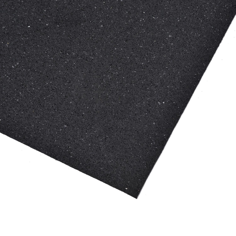 HOMCOM Bodenschutzmatte für Fitnessgeräte Multifunktionsmatte Bodenmatte