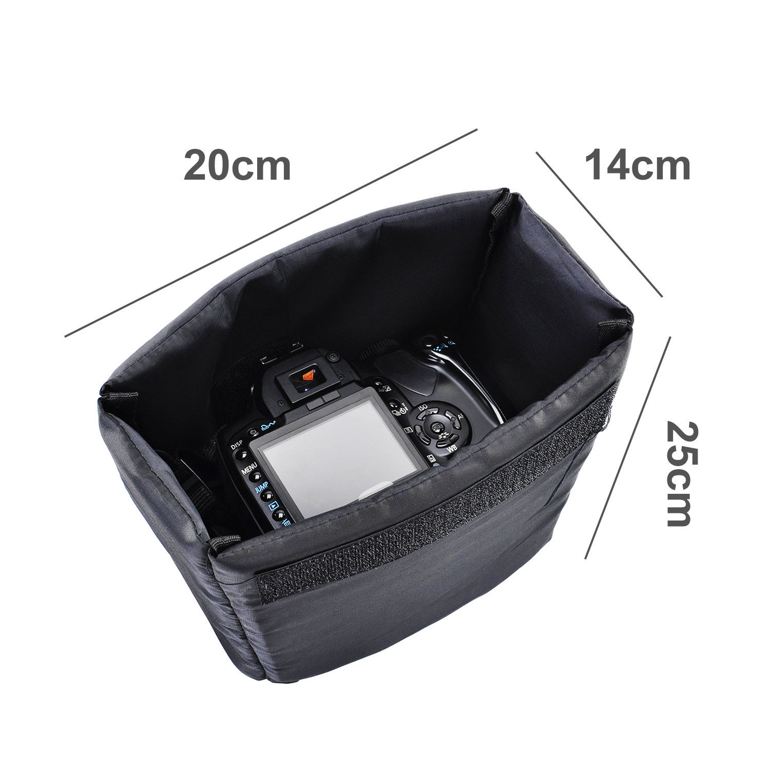DSLR Camera Waterproof Backpack Shoulder Bag Case For Canon Nikon Sony laptop  P