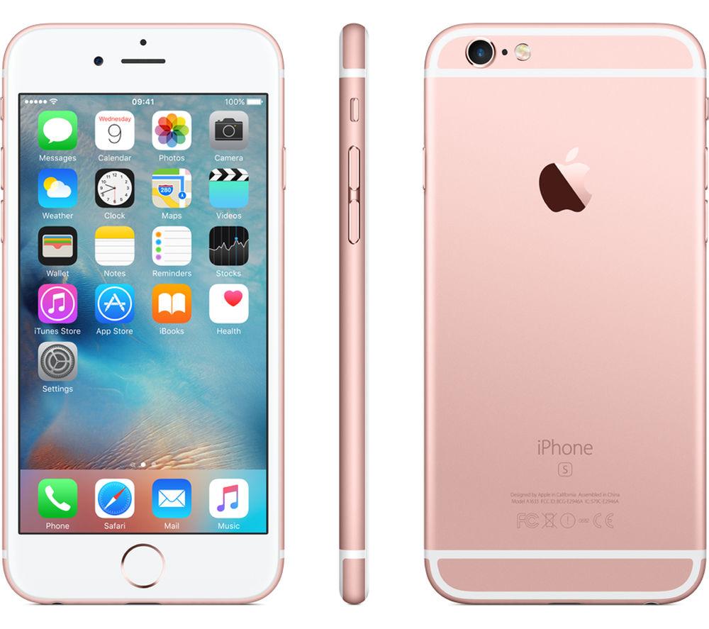 Apple iPhone 6S 64GB Unlocked GSM iOS Smartphone