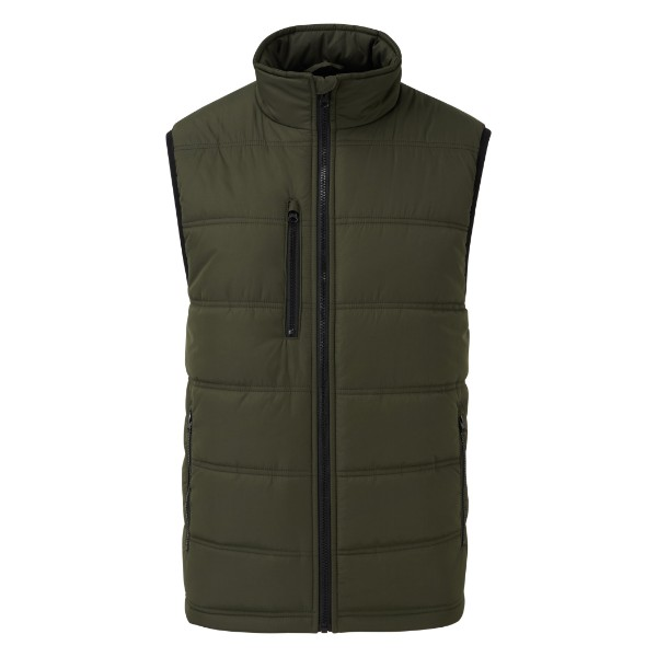Castle Fortress 2230 Carlton polyester chest and side pocket full-zip bodywarmer