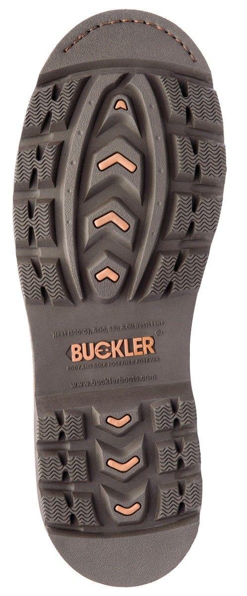 Buckler B550SM pas Marrón Ancho-Fit Bota De Seguridad Con Tapa-Entresuela /& DESGASTE Talla 6-13