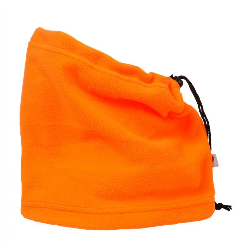 PORTWEST CS21 black,navy,orange or yellow warm winter fleece neck tube