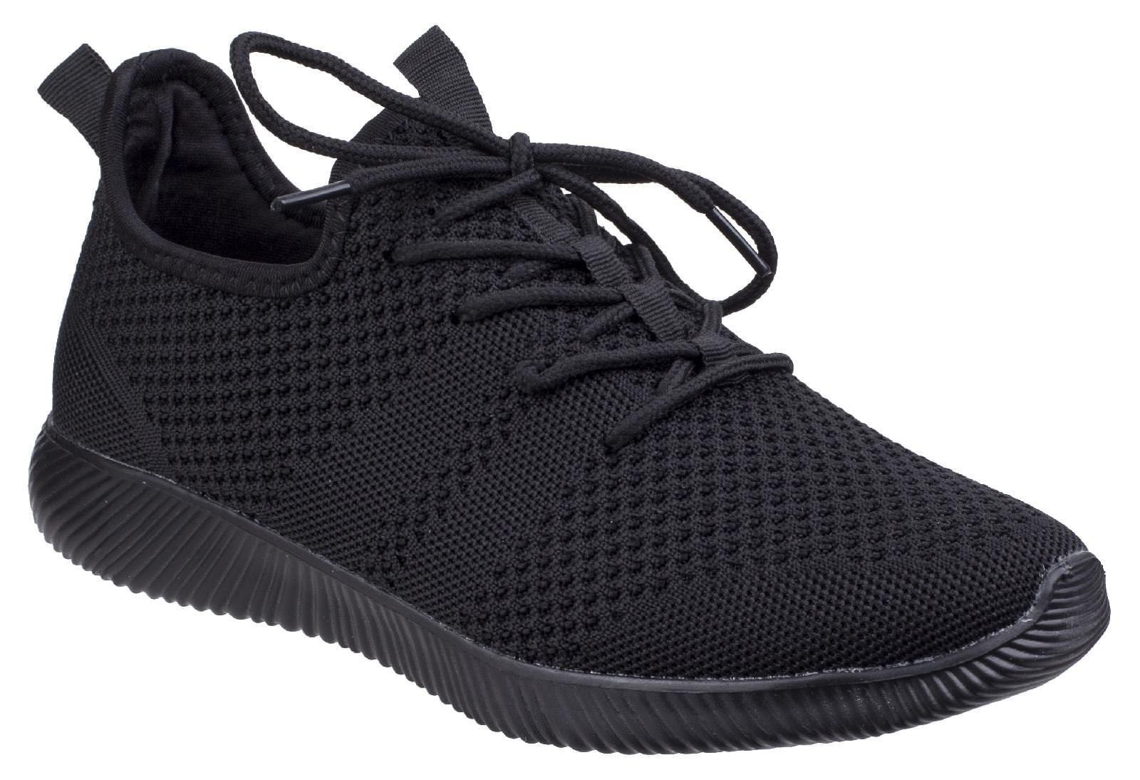 Divaz Heidi knit lightweight breathable sporty ladies trainer shoe