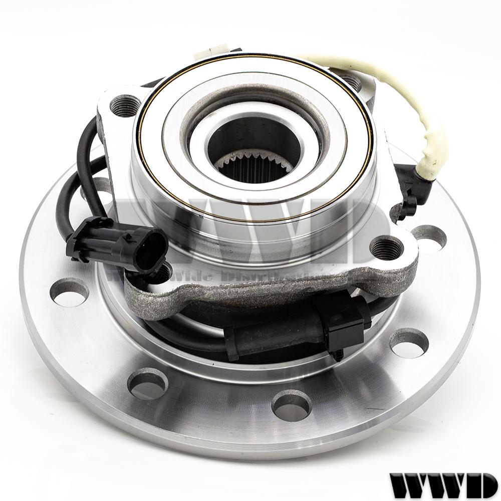 2x 515041 Front Wheel Hub Bearing For 96-1999 GMC K2500 SUBURBAN SIERRA SLE SLT