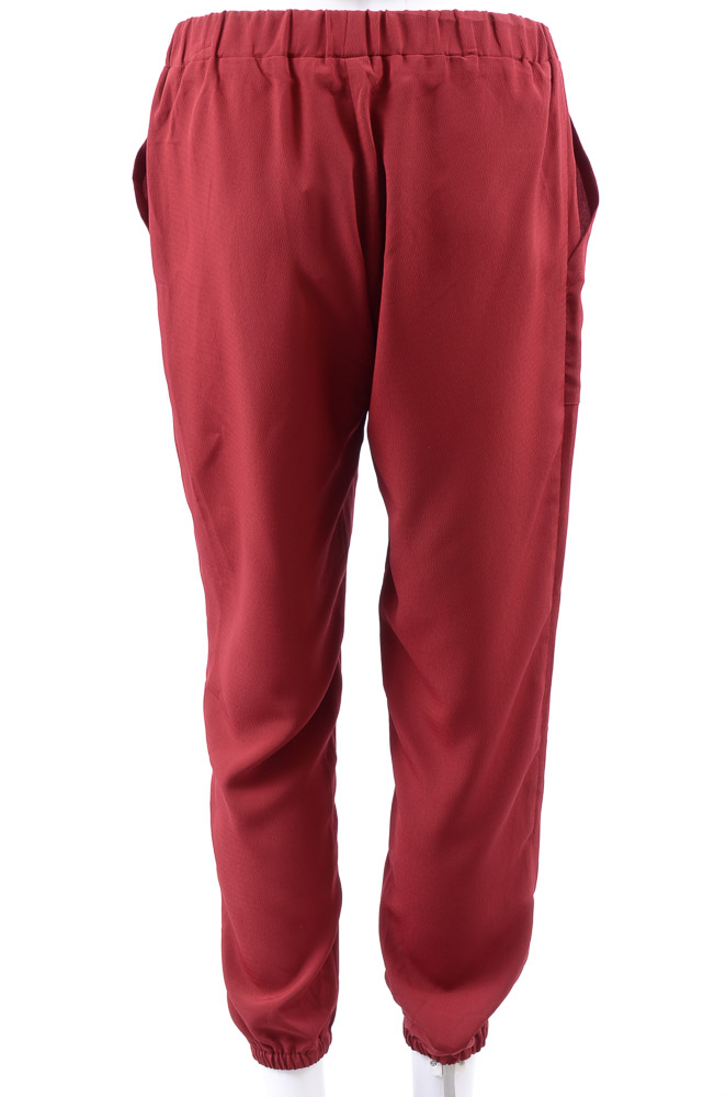 Hatch Maternity The Daphne gathered slouchy cropped ankle trouser pant NEW $178