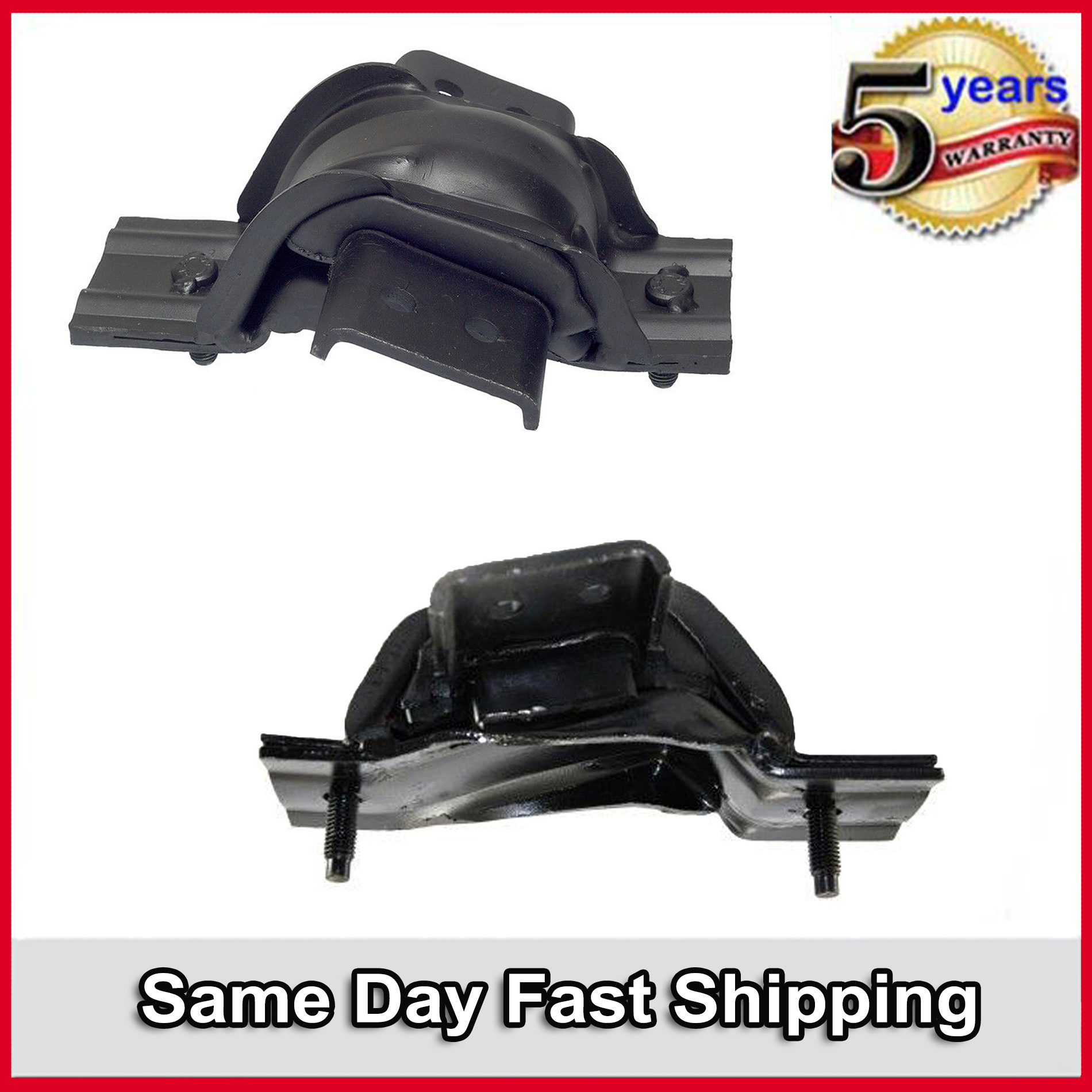 1999-2003 Ford F-250 F-350 Super Duty 7.3L For  Engine Motor Mount 5183 5182 Set