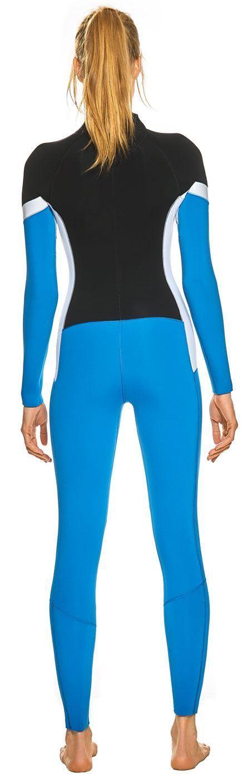 3mm Women/'s GlideSoul Flashback 74 Full Wetsuit Back Zip