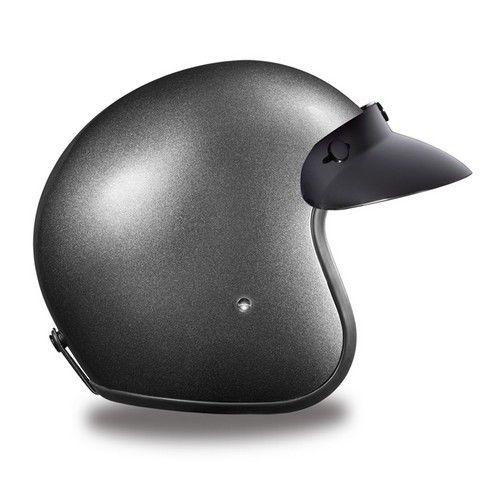DAYTONA Cruiser 3//4 Open Face Motorcycle Helmet Metal Flake DOT 22 COLORS XS-XXL