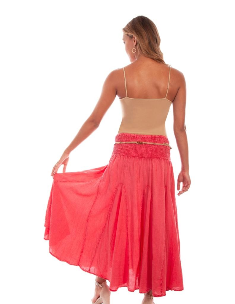 Scully Western Skirt Womens Cantina Full Length Embroidery F0/_PSL-136