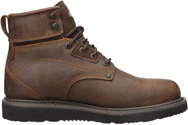 Brown Dickies 6 In Cannon Boot St Wp Eh Astm