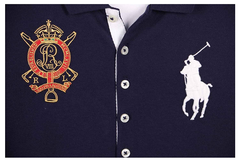 Ralph Lauren Sport Women/'s Embroidered Crest Big Pony Polo