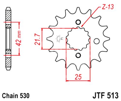 530 JT Sprockets and Drive Chain Kit for Suzuki GSXR 1000 2001-2006