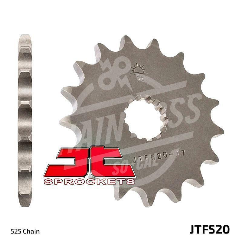 525 JT Sprockets and Drive Chain Kit for Suzuki DL650 V Strom 2004-2006
