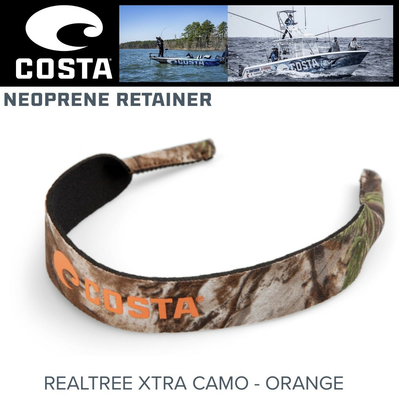 Costa Del Mar Eyewear Keeper Neoprene Retainer