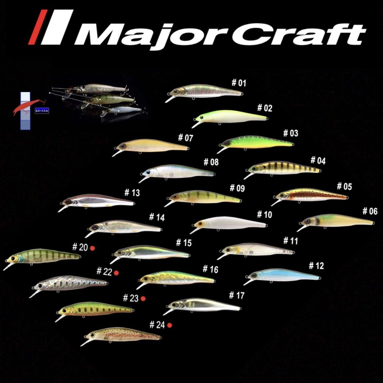 Major Craft Premium Suspending Jerk Bait Lure Zoner Minnow 110