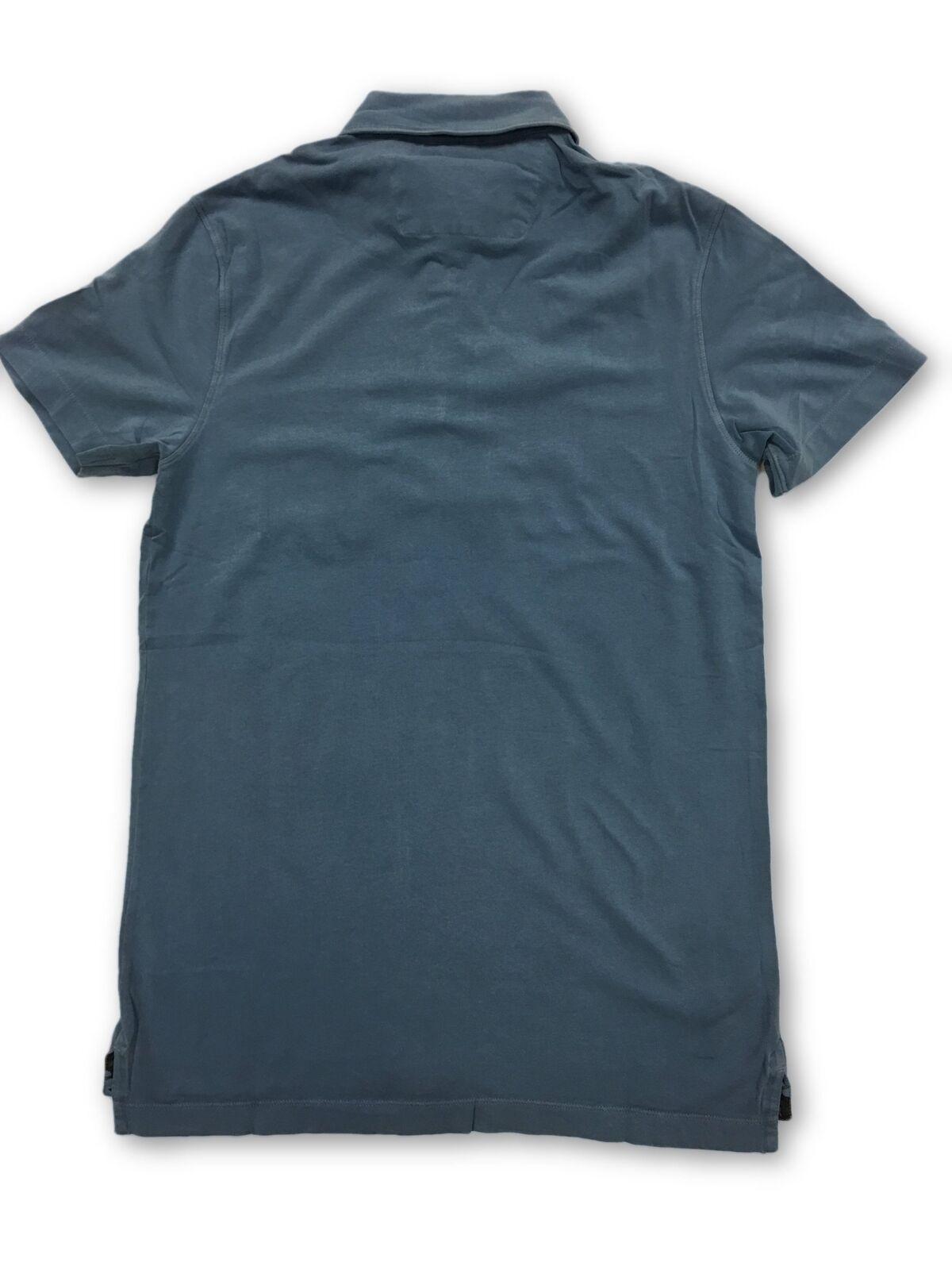 Tailor Vintage polo shirt in denim blue