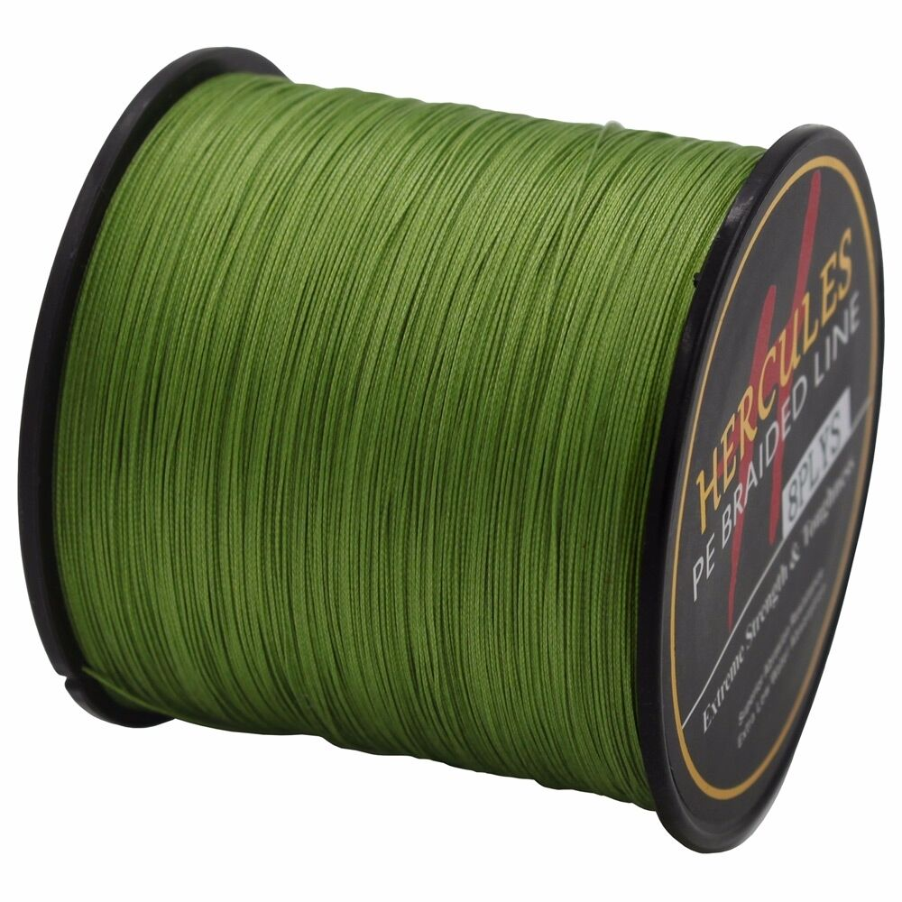 8 Strands Hercules PE Super 500M 1000M 10lb-100lb Extreme Fishing Braided Line
