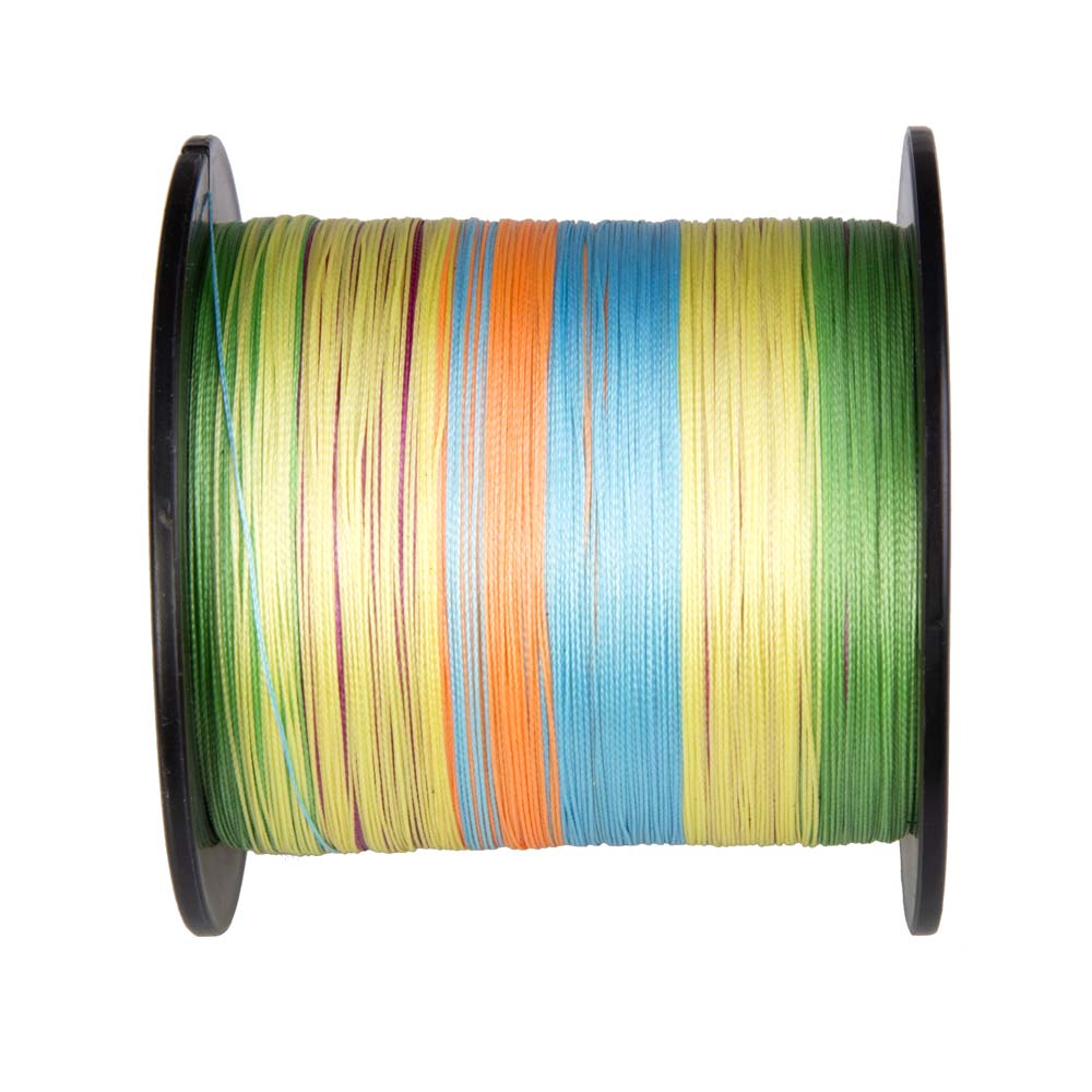 PE 300M Hercules 4 Stands Braided Fishing Line Strong 15 Colors Resistant
