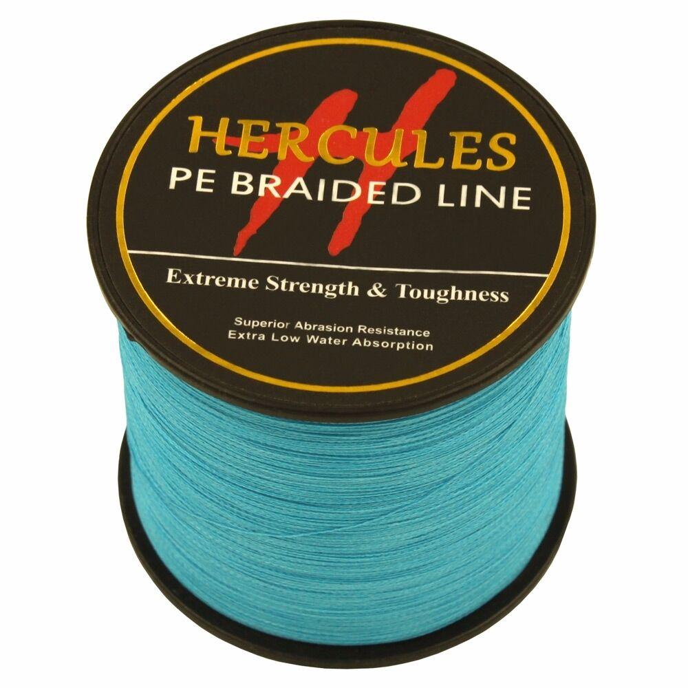 Blue Hercules 6lb-300lb Extreme PE Weave Super Braided 100M-2000M Fishing Line