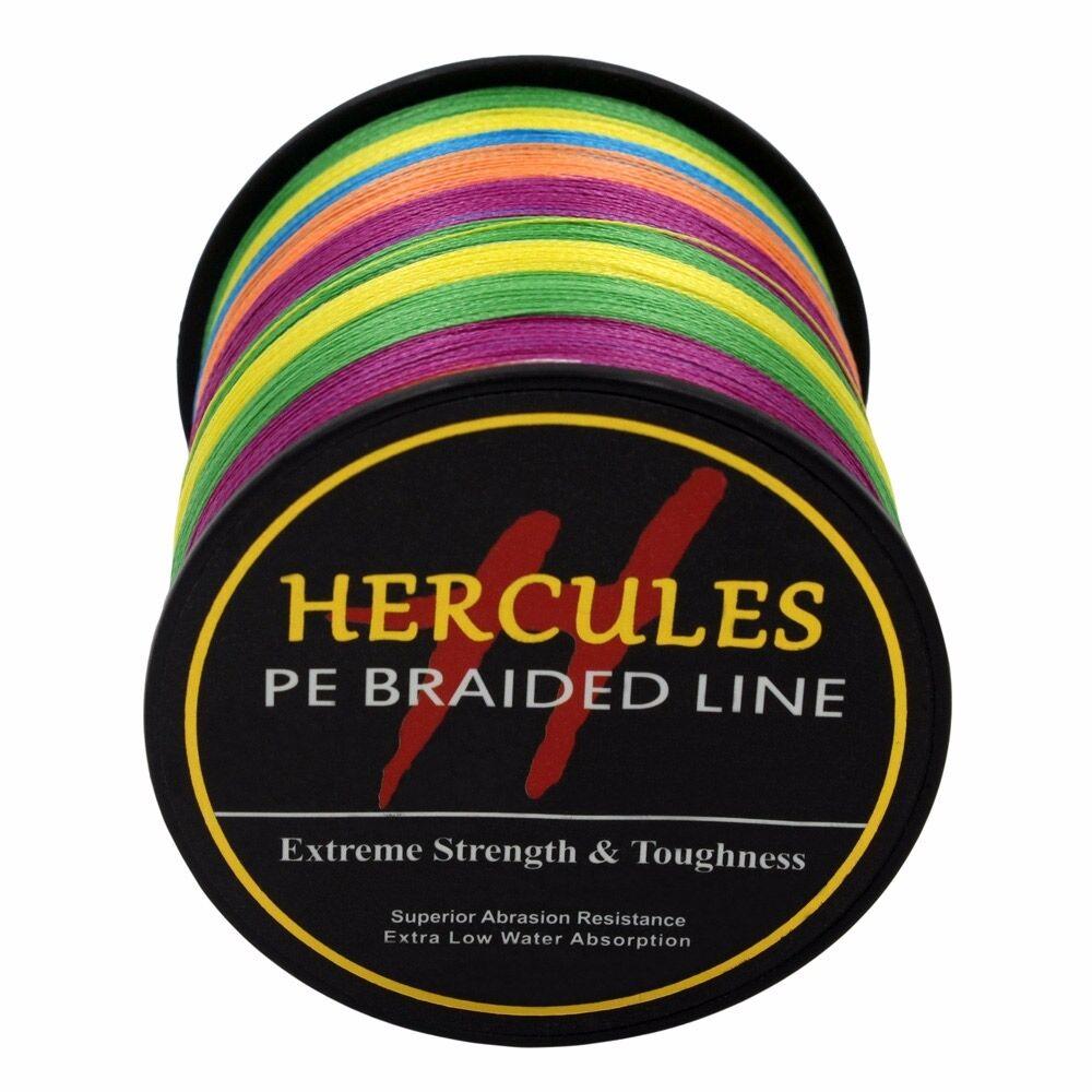 1000M Hercules PRO BRAID DYNEEMA FISHING LINE 6lb-300lb Braided Fishing Line