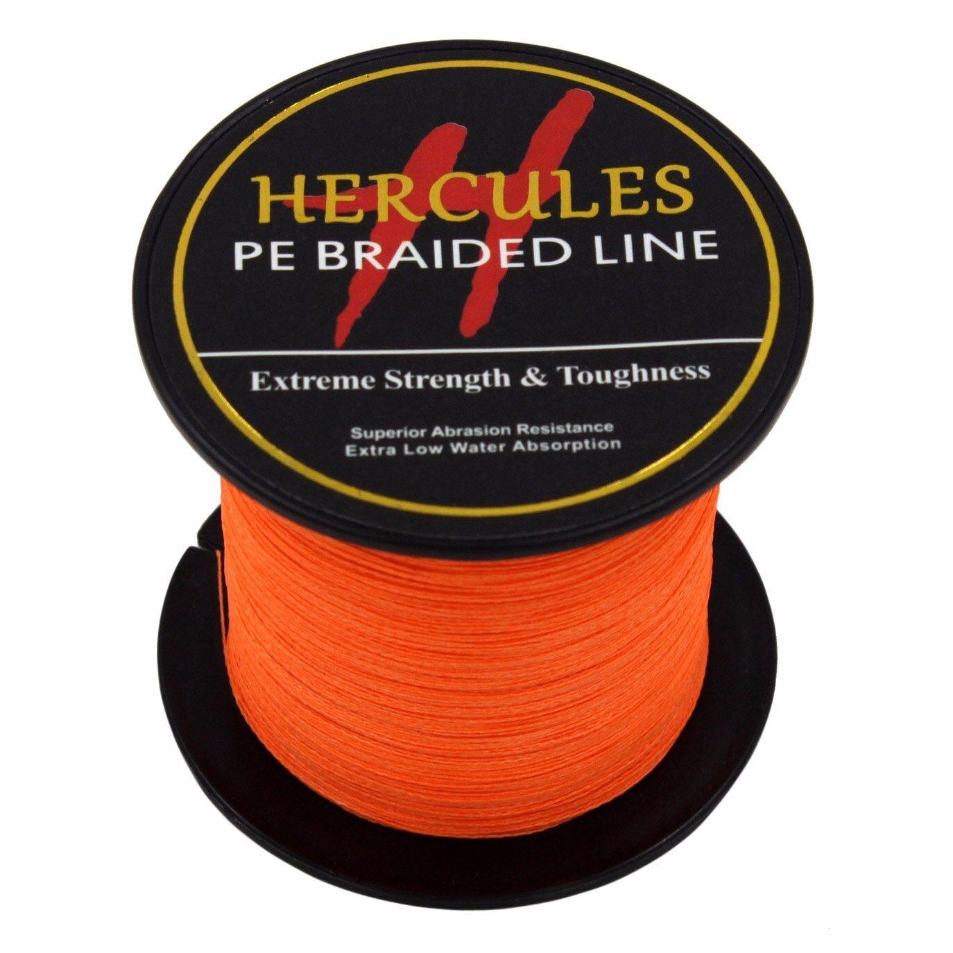 Hercules 6lb-300lb 100M Power Super PE Strong 109Yds Braid Fishing Line Extreme