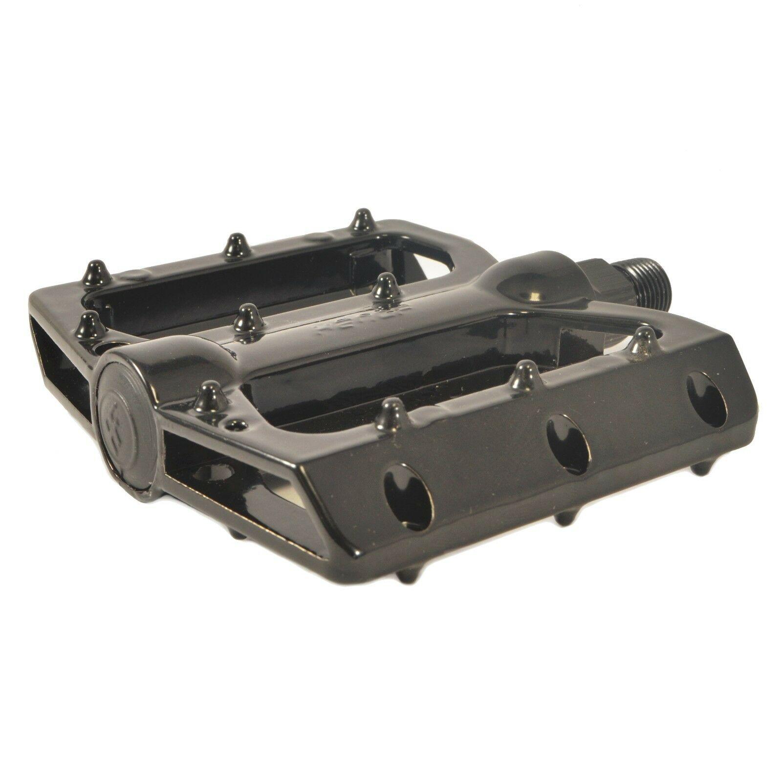 """Lumintrail MTB BMX Platform Bike Pedals Big Foot Aluminum Alloy 9//16/"""" Flat Road"""