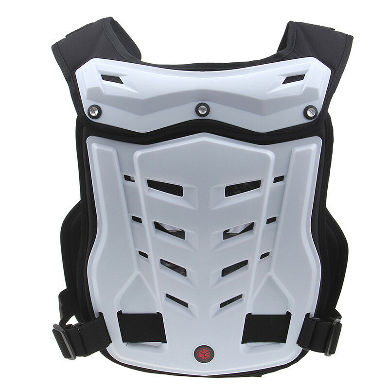 Motocross Chest Vest Guard Protector Body Armor Gear Off Road Skating
