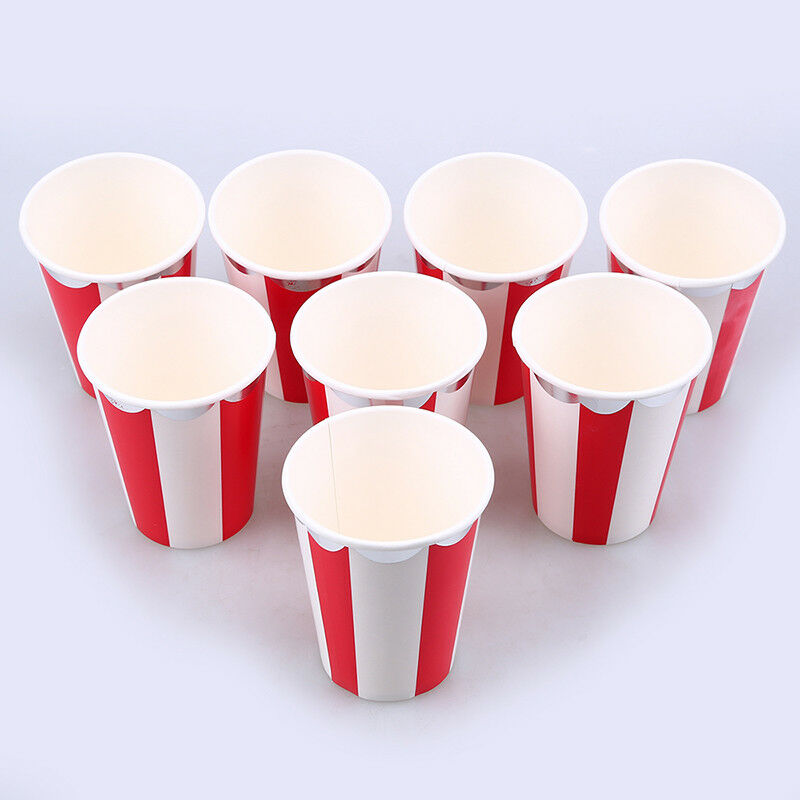 Disposable Paper Cups For Dinner Plates Drinking Wedding Banquet Party Tableware