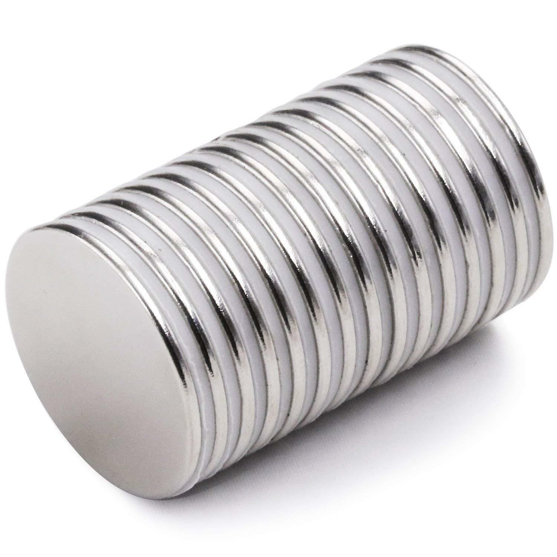 Durable Multi Sizes N50 Disc Cylinder Magnets Neodymium Fridge Craft-fa0815