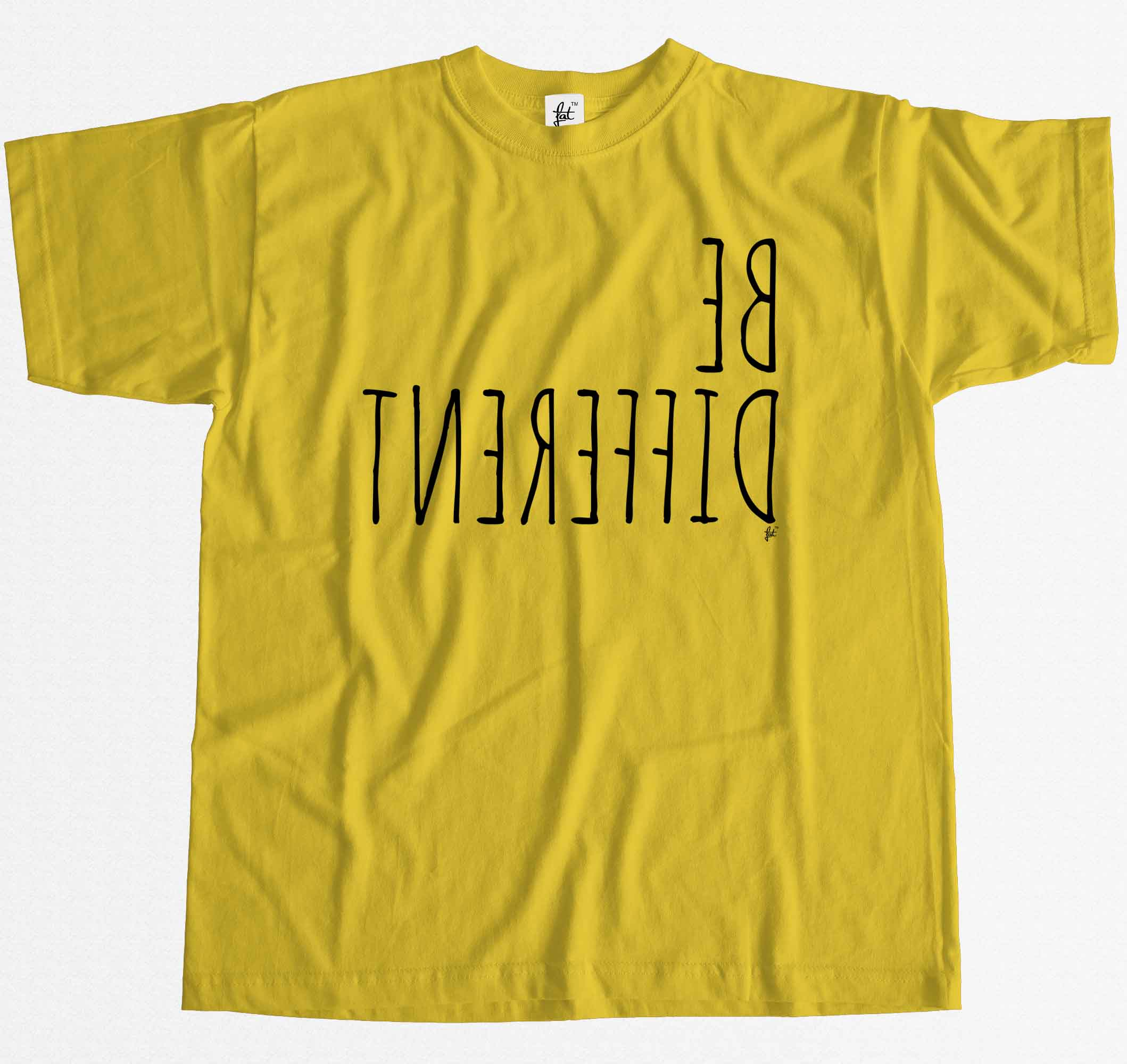 Unique Personality Mens T-Shirt Be Different