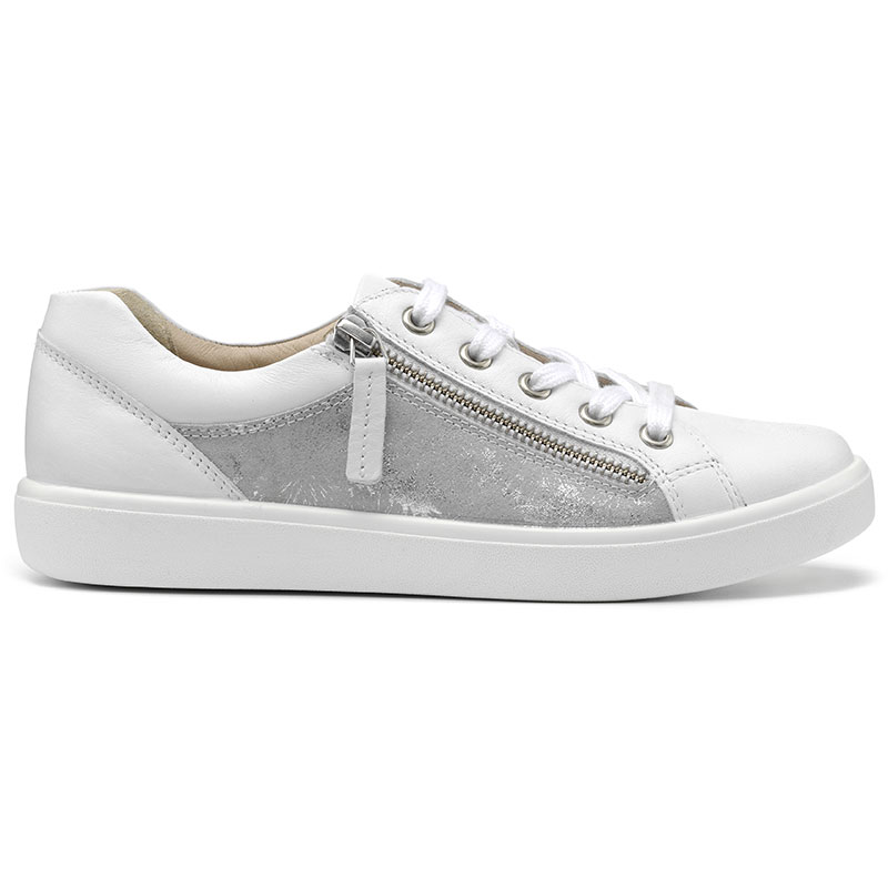 Hotter Women/'s Chase Deck Leather Zip Fastening Adult Deck Shoes Casual Flat