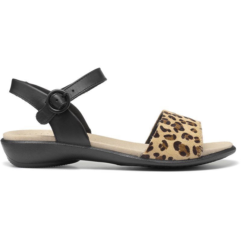 Hotter Women/'s Tropic Open Sandal Leather Buckle Fastening Adult Sandals Travel