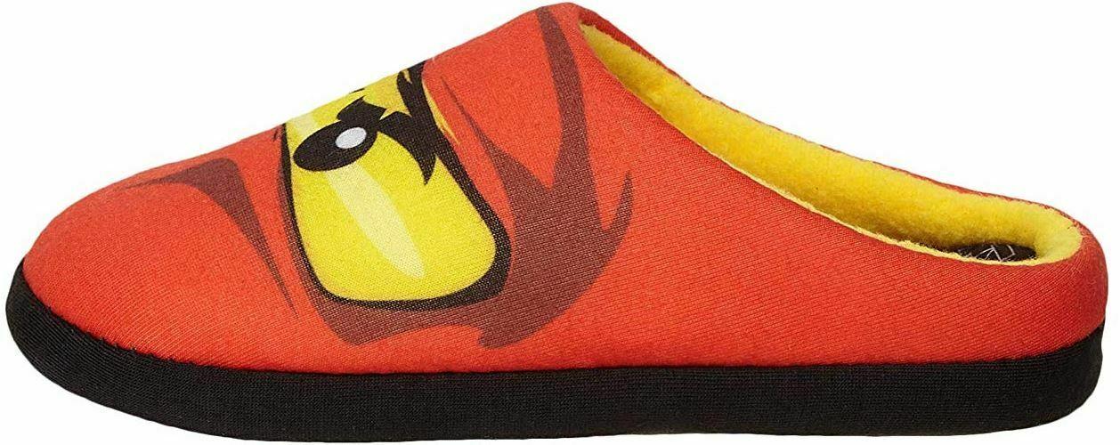 Lego Ninjago Red Ninja Kai Boys Slippers