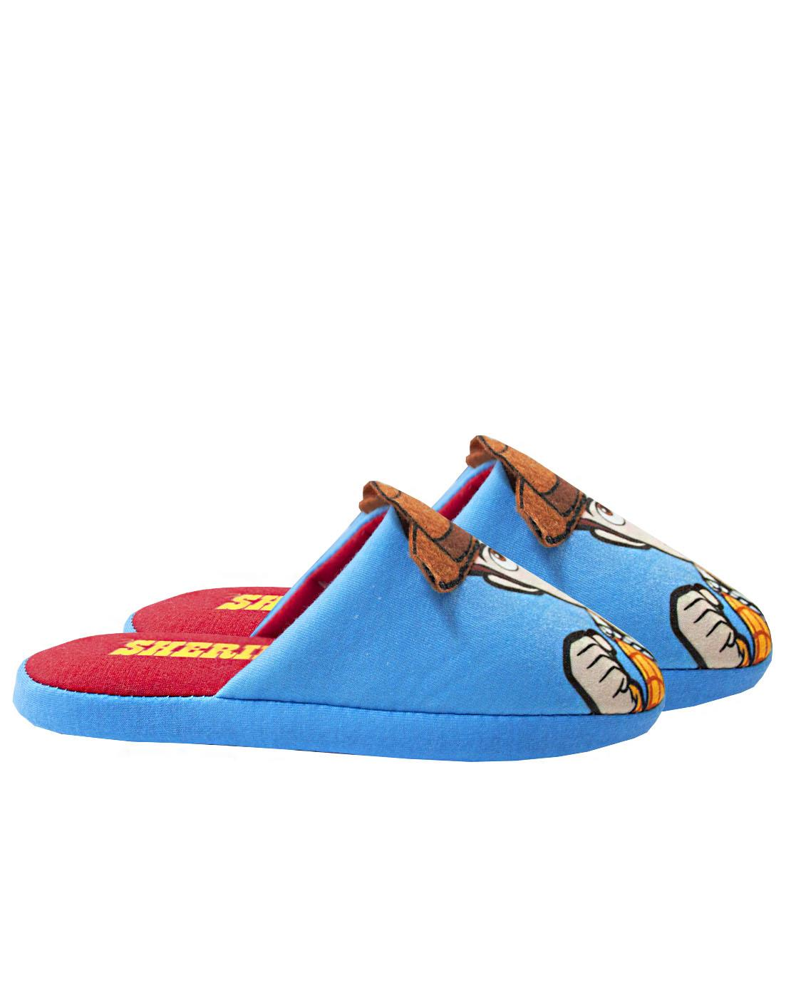 Disney Pixar Toy Story Woody Partial 3D Boy/'s Polyester House Slippers
