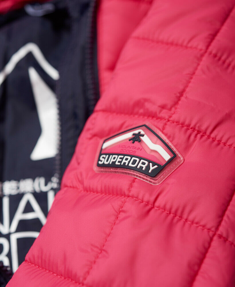 Superdry Womens Hooded Box Quilt Fuji Jacket