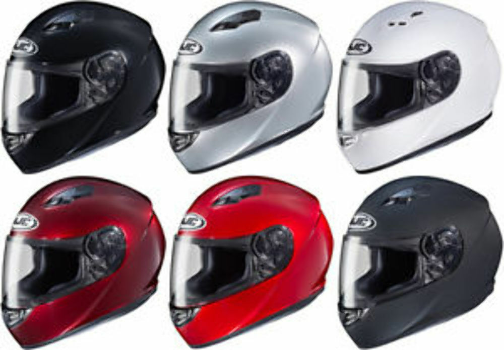HJC CS-R3 Black DOT Full-Face Helmet Adult Sizes XS-2XL