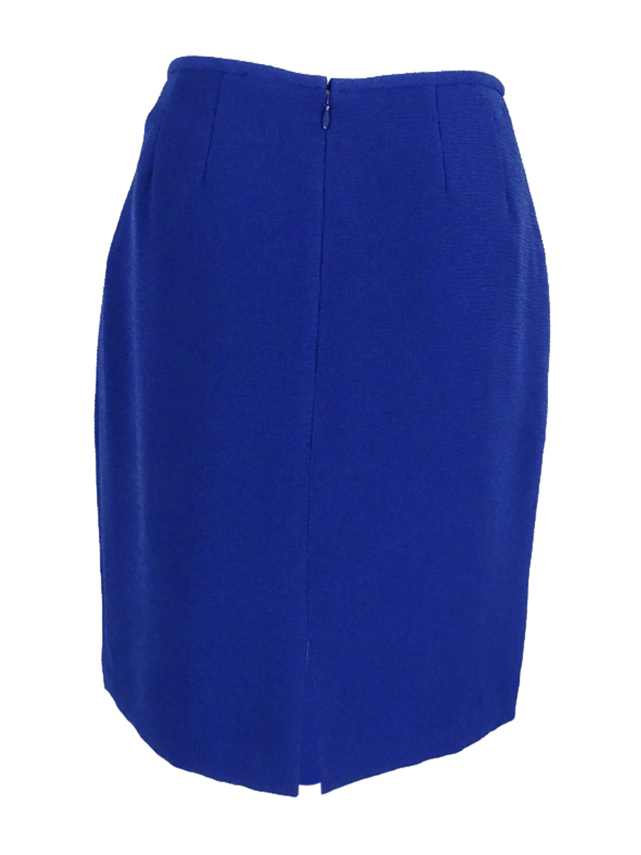 Tahari Women/'s Textured Crepe Pencil Skirt