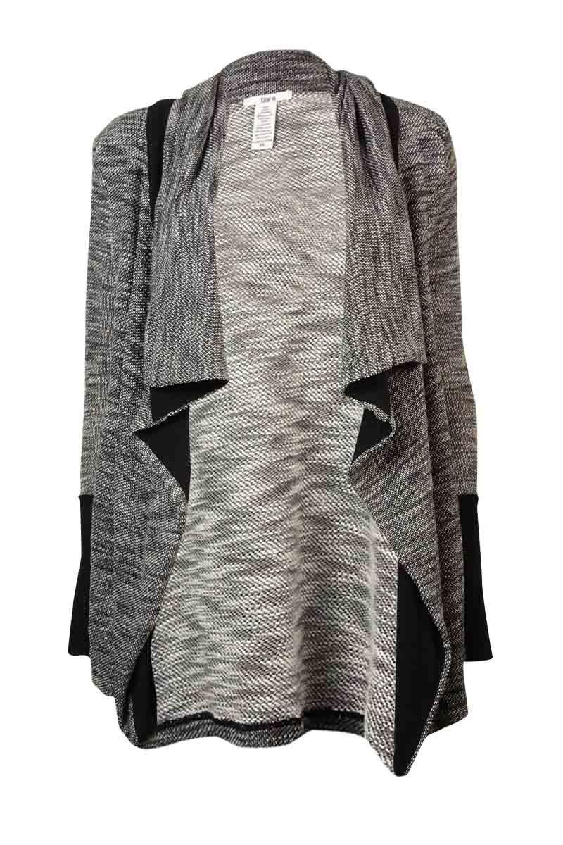 Bar III Bar III Women's Long Sleeve Slub-knit Cardigan Sweater