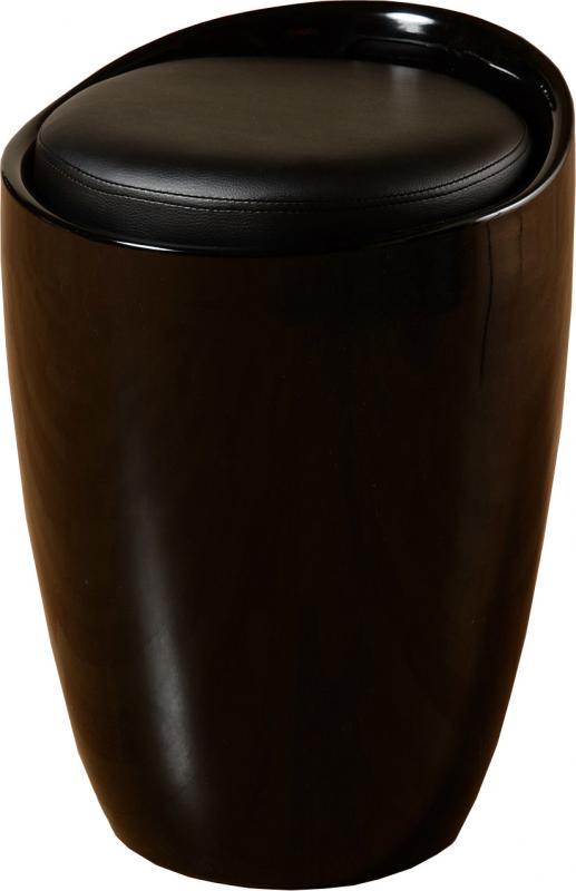 Tabouret-de-rangement-armoire-Plusieurs-couleurs-avec-coussin-en-faux-cuir